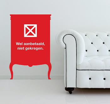 meubels aanbetaald niet geleverd cbw-erkend