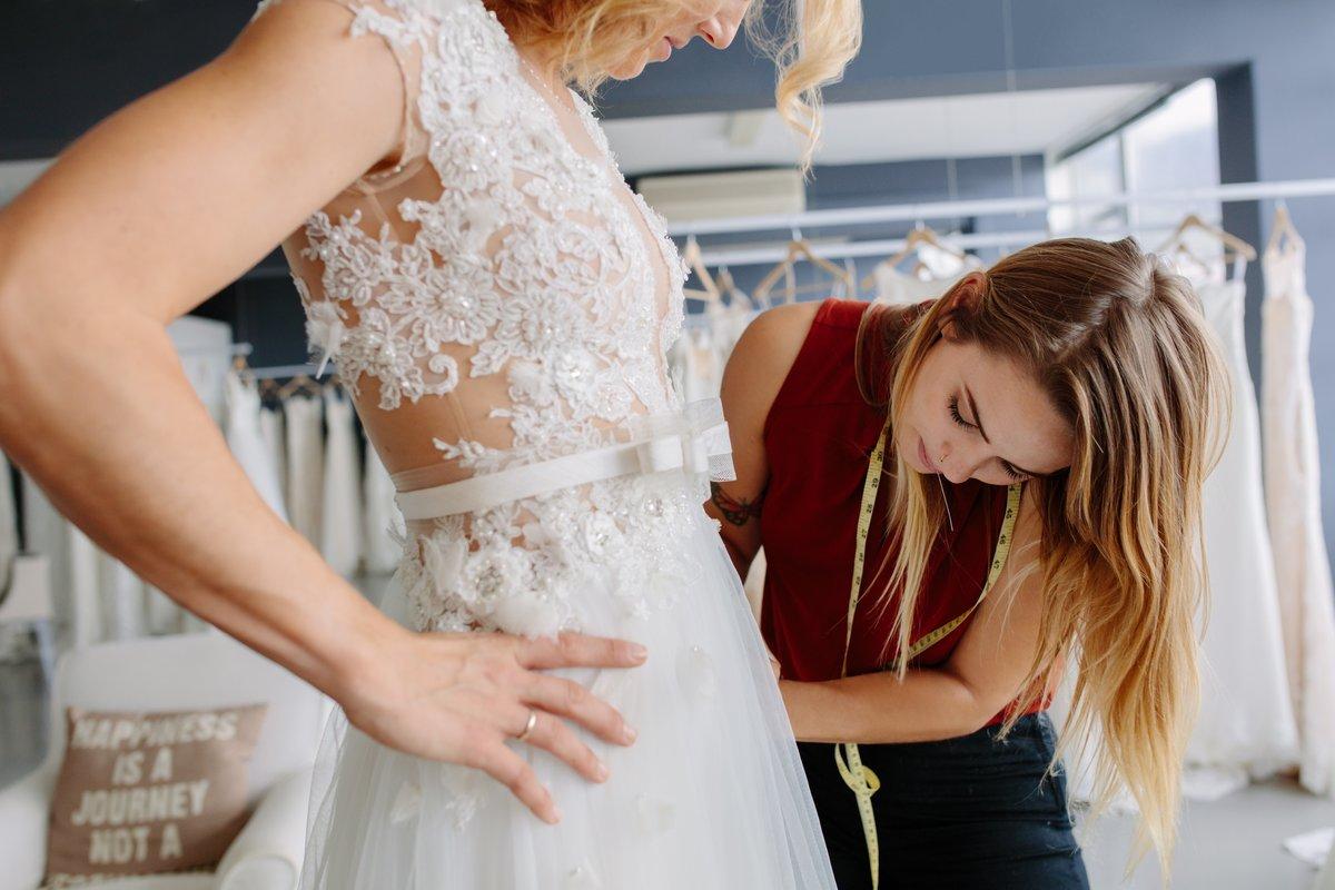 Bruidsjurken gered Actueel CMW-erkend